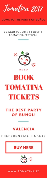 Tickets Party Tomatina Spain